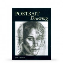 Portrait Drawing : Book by John Freeman