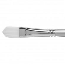 Pro Arte: Sterling Acrylix Long behandelt - Filbert synthetische Acryl / Öl-Pinsel Serie 201F Größe 10