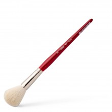 Silver Brush : White Round Mop : Series 5518S : Size 16