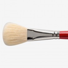 Silver Brush : White Oval Mop : Series 5519S : Size 3/4in