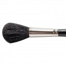 Silver Brush : Black Round Mop : Series 5618S : Size 16