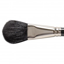 Silver Brush : Black Oval Mop : Series 5619S : Size 1in