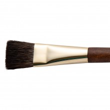 Isabey : Pure Squirrel Watercolour Brush : Series 6236i : Flat : Size 6