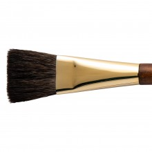 Isabey : Pure Squirrel Watercolour Brush : Series 6236i : Flat : Size 8