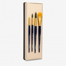 Tintoretto : Thierry Duval : Watercolour Brush : Series 7912 : Set of 4