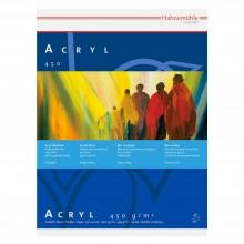 Hannemuhle: Acryl Paint-Board 24x32cm 450gsm: 10 Blatt: hochweiss: Schwergewicht: verklebt auf allen 4 Seiten