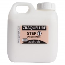 Applicraft : Craquelure Base : Large Crack Effect : Water Based : 500 ml