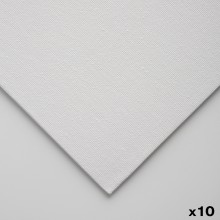 Jackson's : 3mm Cotton Art Board : Canvas Panel : A4 : 10 Pack