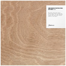 Jackson's : 5mm Wooden Painting Panel : 10x10in : Pack of 5