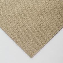 Klare grundiert grobe Leinen CL681 auf MDF-Board 20 x 30cm