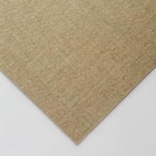 Klare grundiert feines Leinen CL696 auf MDF-Board 20 x 30cm