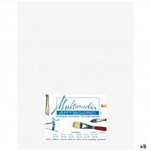 Multimedia Artboard : Pastel Artist Panel : 0.8 mm : 320 Grit : 5 Pack : 11x14in : White