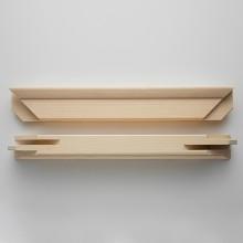 Professional 40cm KEILRAHMEN paar: 43x58mm Profil