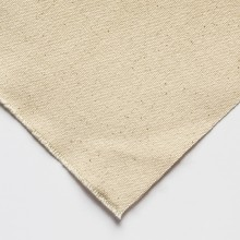 Jackson's : CUPC12 Medium Cotton Duck Canvas : 390gsm (12oz) : Unprimed : 10x15cm : Sample : 1 Per Order