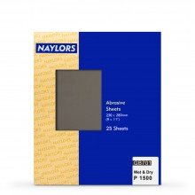 Naylor : 25 Sheets Wet & Dry Grade : 1500