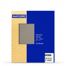 Naylor : 25 Sheets Wet & Dry Grade : 2000