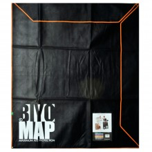 Biyomap : Reusable Artwork Shipping and Storage Bag : 140x160cm (Orange)