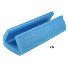 Biyomap : Biyosafe : Foam Edge Protector : 20cm Long : 45x60mm : Set of 4