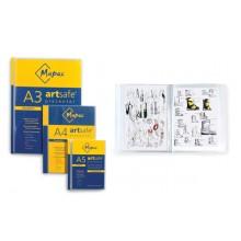 Mapac: A4 Artsafe Presenter: 20 klar Sleeve-Präsentationsmappen, die bis zu 40 Seiten enthalten