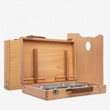 Mabef: Künstler-Box 14 x 10 x 3 in (Strafraum Abmessungen geschlossen)