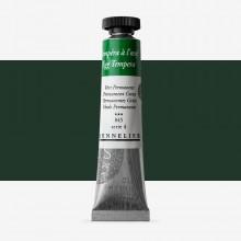 Sennelier Ei Tempera: 21ml Tube Permanent grün
