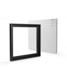 Jackson's : Ready Made Black Tray (Float) Frame and 50x50cm 38mm Canvas Set