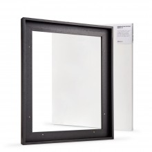 Jackson's : Ready Made Black Tray (Float) Frame and 40x50cm 19mm Canvas Set