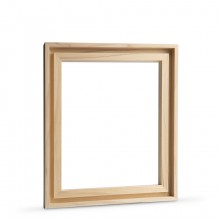 Jackson's : Ready-Made Lime Wood Frame for Panels 10x12in : 7mm Rebate : 9mm Face