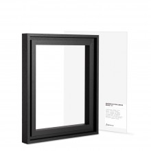 Jackson's : Black Ready Made Ayous Frame and 10x12in Panel Set