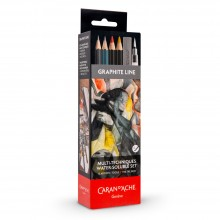 Caran d'Ache : Multi-Techniques : Watersoluble Metal Set of 13