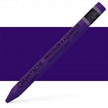 Caran Dache NEOCOLOR II: Künstler Aquarell Buntstifte: violett