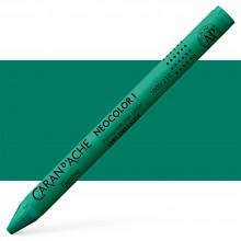 Caran Dache: Klassische Neocolor ich: Smaragdgrün
