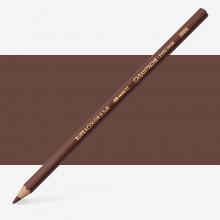 Caran d Ache: Supracolor Soft: wasserlösliche Künstler Bleistift Brown