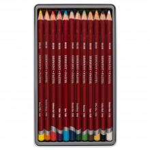 Derwent Pastell Bleistift (12) Dose