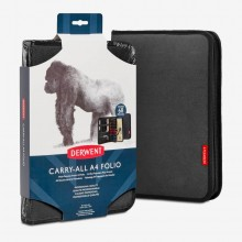 Derwent : Carry-All A4 Folio : Black