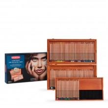 Derwent : Lightfast : Colour Pencil : Wooden Box Set of 100