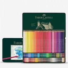 Faber Castell Albrect Durer Aquarell Bleistifte Set 120 in einer Metall-Dose.