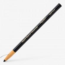 Allgemeine Pencil Company: Kohle Wrap Bleistift HB schwer: Peel und Skizze