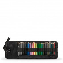 Jackson's : Black Pencil Wrap : Holds 36 Pencils