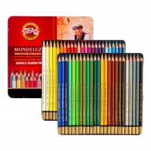 Koh-I-Noor: Mondeluz Set von 48 Aquarell Coloured Pencils 3726
