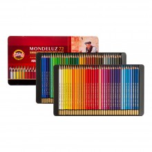 Koh-I-Noor: Mondeluz Set von 72 Aquarell Coloured Pencils 3727