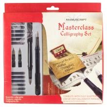 Manuskript-Masterclass-Set: 2 Füllfederhalter, assorted 12, Tinten und mehr