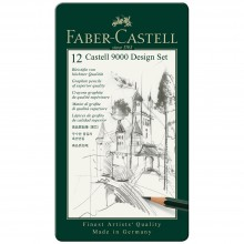 Faber Castell : Castell 9000 : Pencils : Design Set of 12