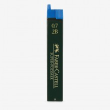 Faber Castell : Super Polymer Pencil Leads : Pack of 12 : 0.70mm : 2B
