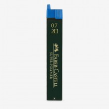 Faber Castell : Super Polymer Pencil Leads : Pack of 12 : 0.70mm : 2H