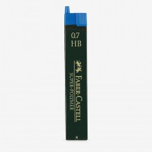 Faber Castell : Super Polymer Pencil Leads : Pack of 12 : 0.70mm : HB