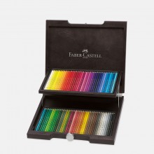 Faber Castell : Polychromos Pencil : Wooden Box Set of 72