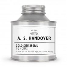 Übergabe: 1-2 Stunden-Öl Gold Größe - 250ml