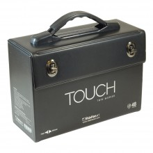 ShinHan : Empty Touch Twin 48 Marker Pen Case (Excludes Marker Pens)