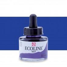 Royal Talens : Ecoline : Liquid Watercolour Ink : 30ml : Ultramarine Violet